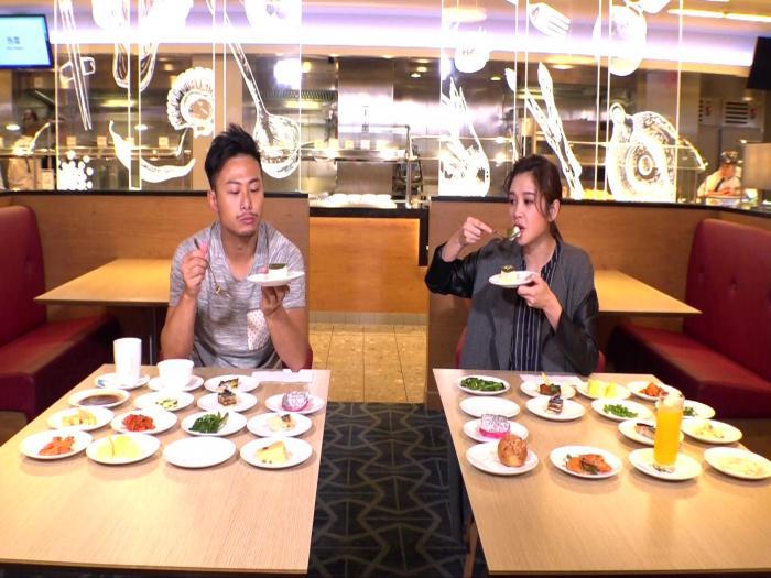 美食自助餐遊戲 : 麥美恩、楊潮凱,自助餐美食Battle!