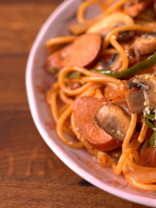 【日式Cafe】拿破崙意粉 Spaghetti Neapolitan