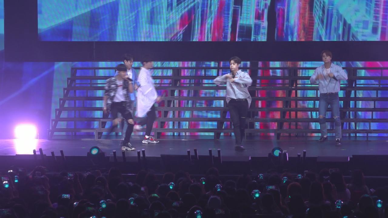 韓國男團Highlight舉辦香港見面會 又唱又跳炒熱全場氣氛