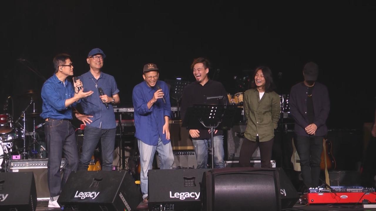 (國語)羅大佑台灣舉辦迷你音樂會 與王治平等獻唱經典金曲