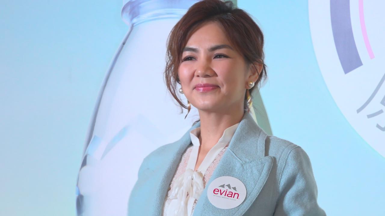 (國語)陳嘉樺到港出席活動 法國拍廣告享天倫樂