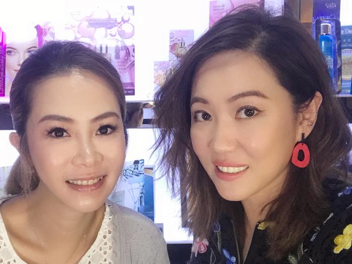 與資深美容業界朋友Coco Yau 分享實用美容心得