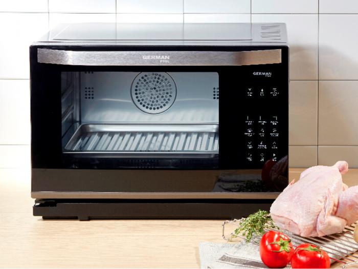 蒸煮烤焗完美二合一 家裡有它超無敵