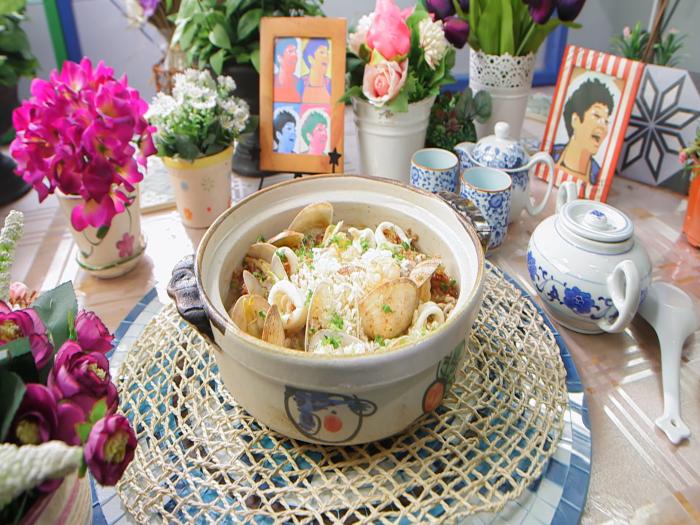 食好D食平D_海鮮湯泡紅米飯