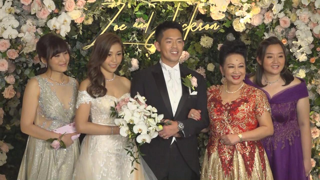 薛家燕廣邀好友出席兒子婚宴