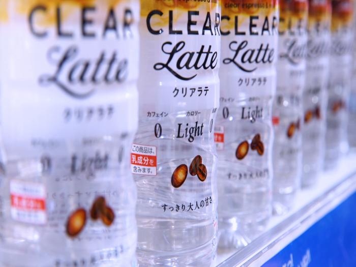 最新出!日本大熱透明Latte