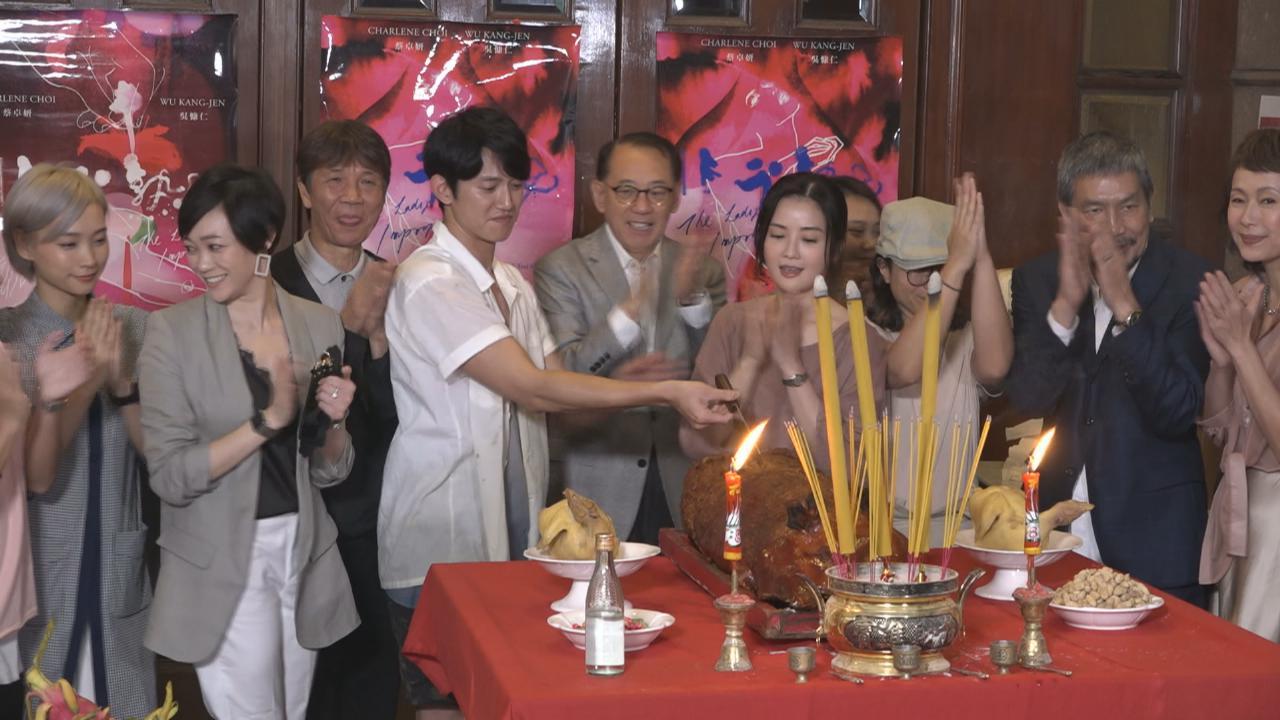 (國語)吳慷仁首次拍攝香港電影 與蔡卓妍合作愉快