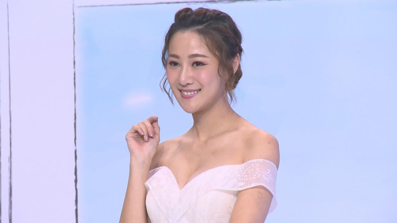 朱智賢首次為婚紗展行騷 趁機物色心儀婚紗款式