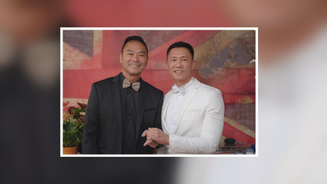 於英國倫敦簽紙結婚 鄧達智與陳梓欣正式成合法伴侶