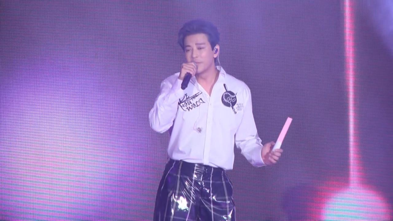 陳曉東孝琳等歌手同台演出 各騷唱功炒熱氣氛