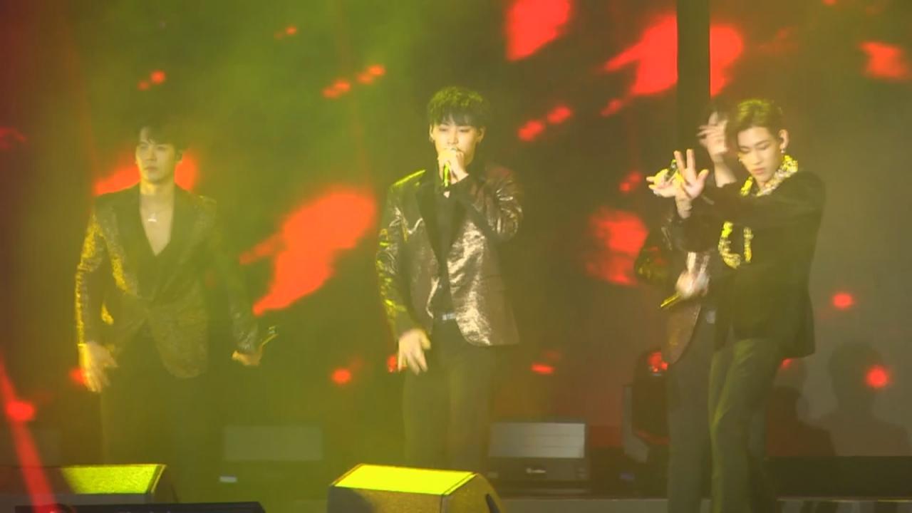 GOT7世巡演唱會台灣站 載歌載舞炒熱氣氛