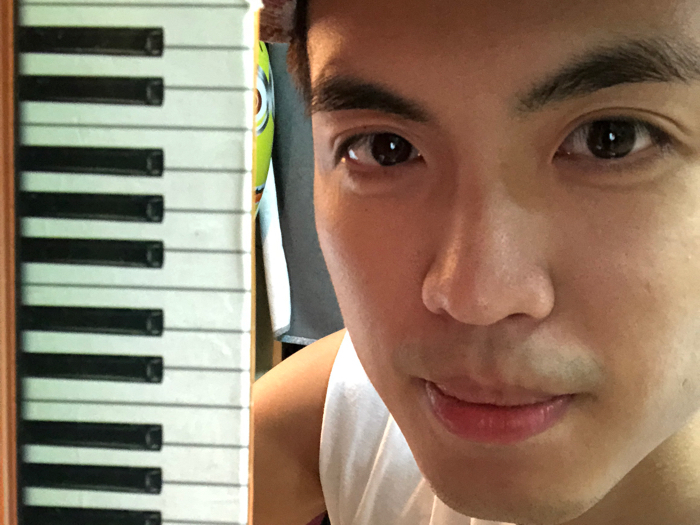 李嘉晉的彈鋼琴直播?