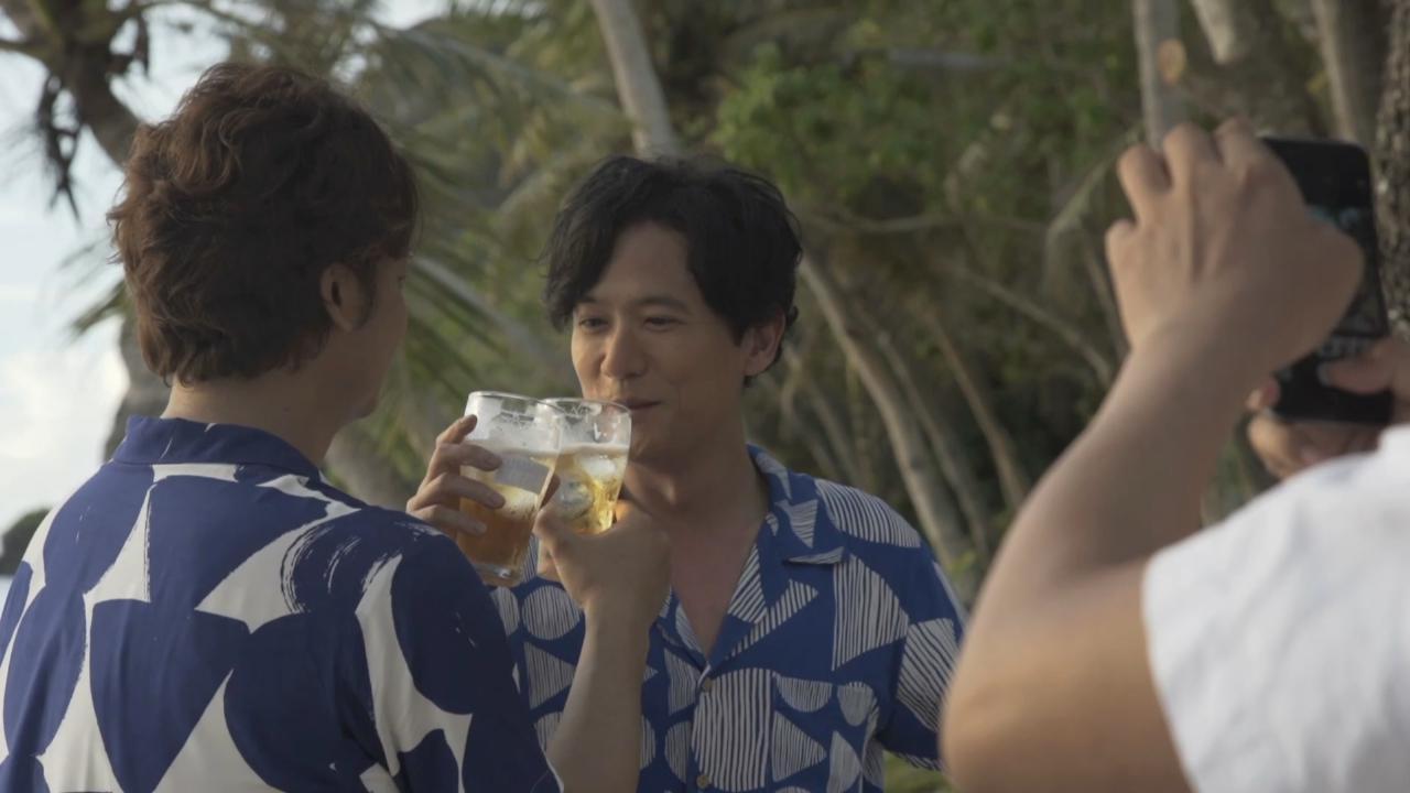 (國語)香取慎吾稻垣吾郎拍廣告 二人於海灘盡情玩樂