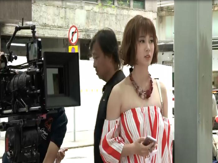 朱晨麗為新劇剪短髮 預告服裝造型新突破