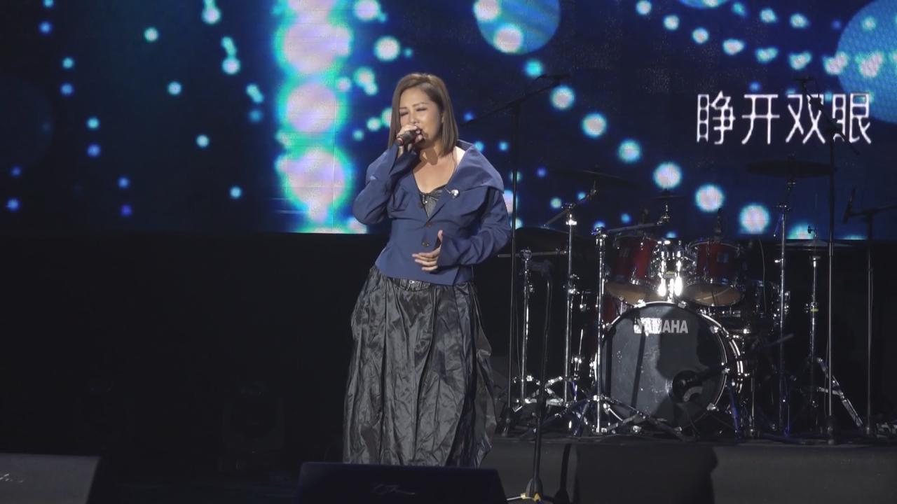 (國語)出席廣州音樂盛典 衛蘭透露將展開内地巡演