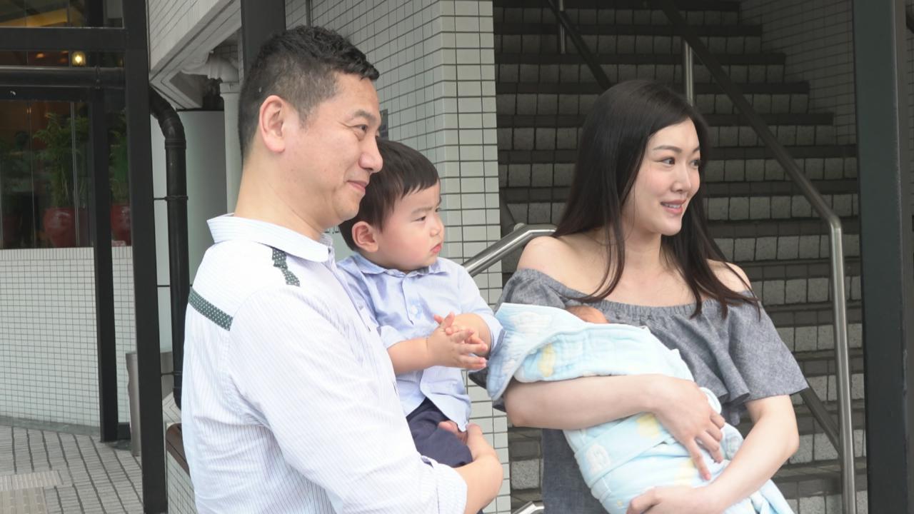 葉翠翠產後獲老公接出院 分享再做媽媽喜悅
