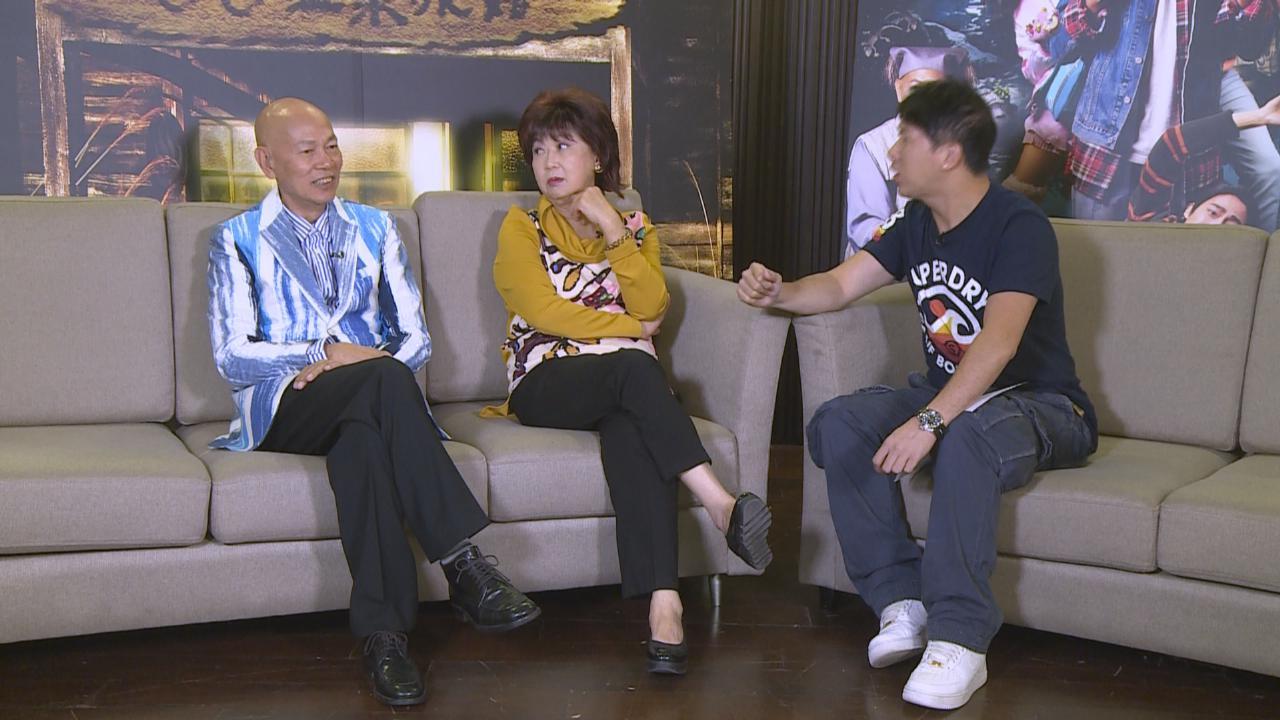 羅家英感拍攝台灣電影節奏較輕鬆 朱咪咪指導演拍攝細膩