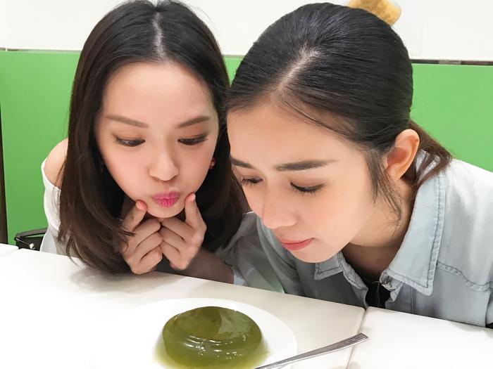 馮盈盈(重甜慎入)一齊食糖水with麥明詩???