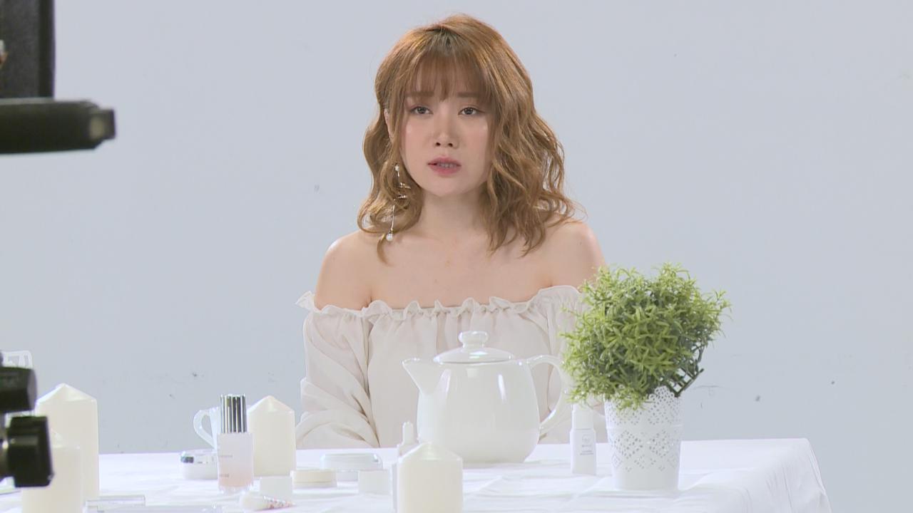 以仙氣造型拍攝新歌MV 譚杏藍自言個性男仔頭