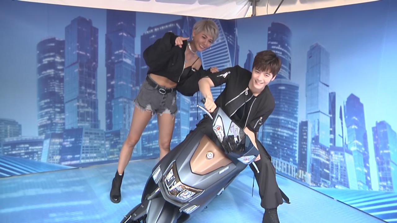(國語)與盧瑮莉出席代言活動 李宗霖自爆騎摩托車鮮少載人