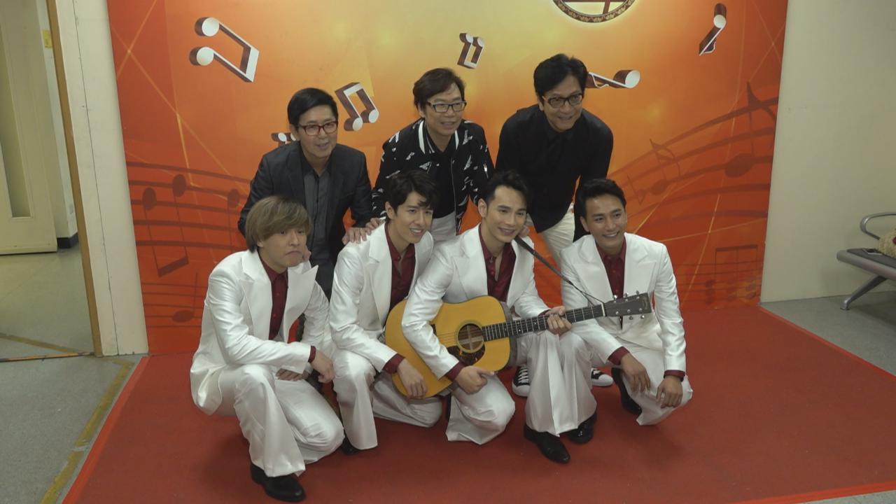 陳友帶新戲年青演員宣傳 彭健新喜見被陳家樂美化