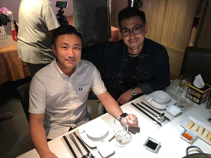 陳展鵬跟崔建邦搵好嘢食