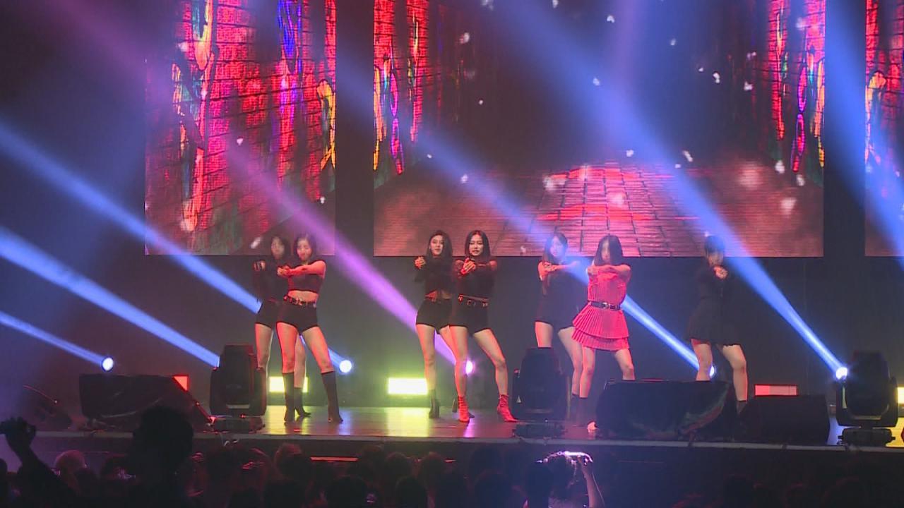 (國語)CLC首次到港開唱 賣力獻上連串勁歌熱舞