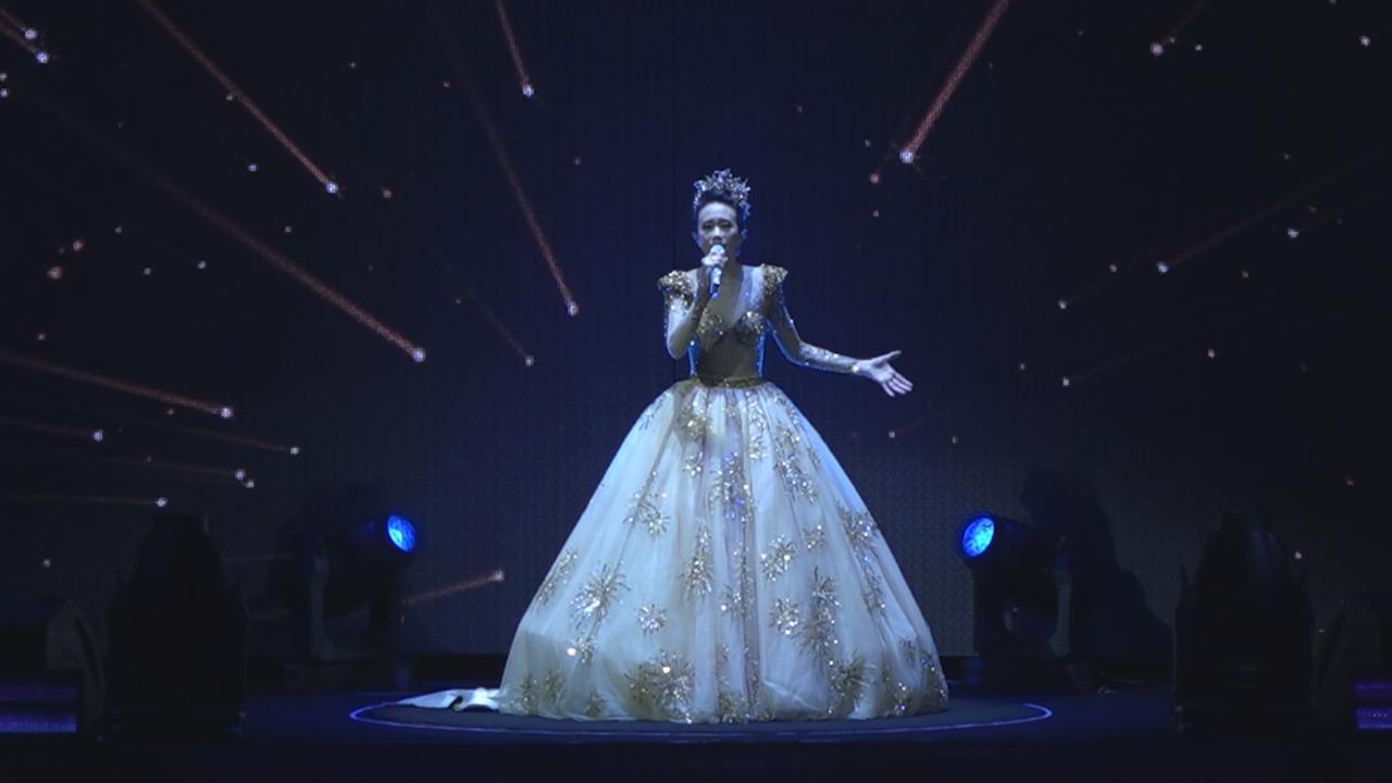 莫文蔚澳門舉行演唱會 大騷長腿氣氛熱烈