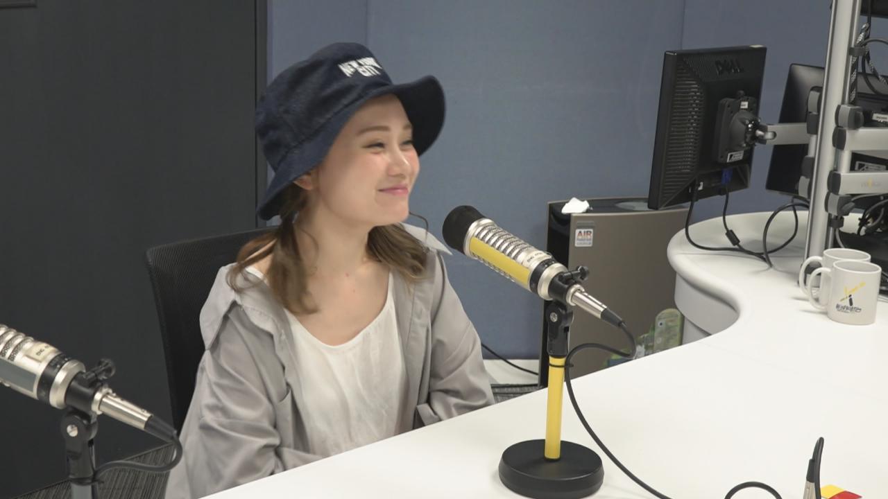(國語)譚杏藍喜獲偶像監製新歌 到周國賢錄音室緊張發抖
