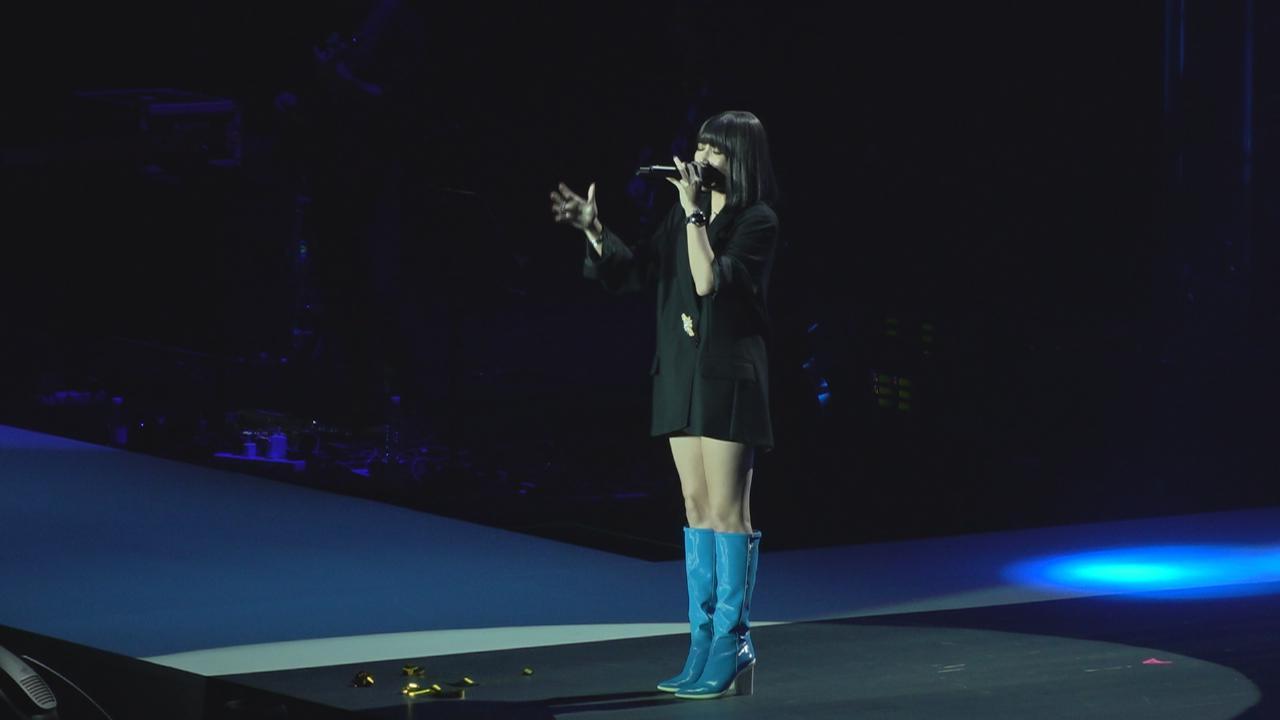 A-Lin澳門舉行演唱會 深情演唱大騷唱功