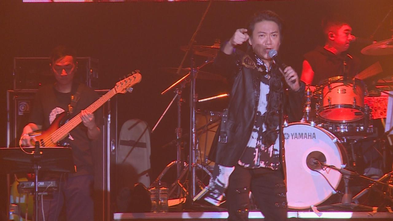 (國語)吳國敬舉行搖滾演唱會 獻唱連串搖滾歌氣氛high爆