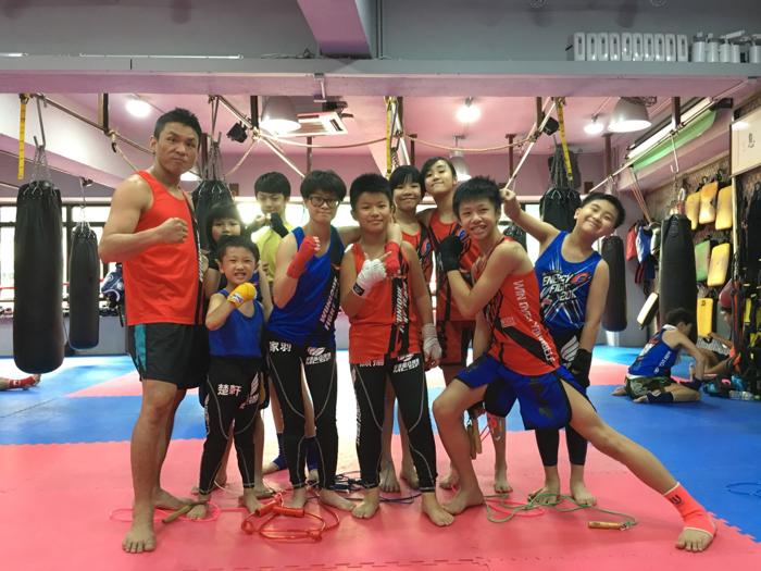 卓楠、詠渝的暑期活動@小戰隊備戰訓練
