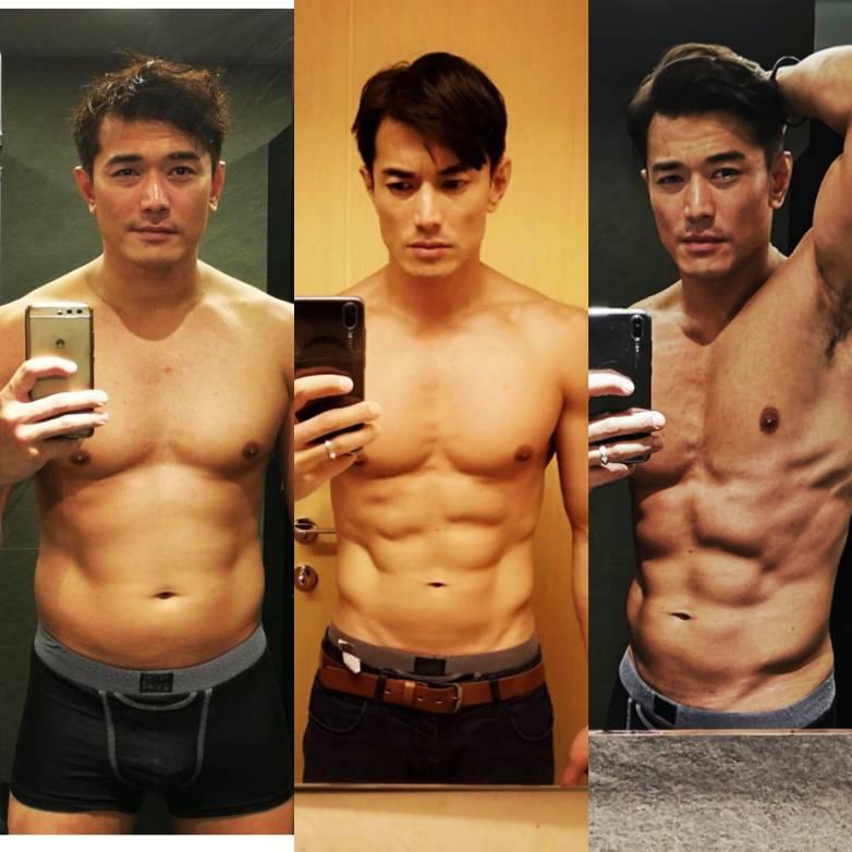 Body transformation.