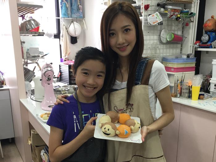 夏日大想 - 可愛造型麵包Workshop Part 2
