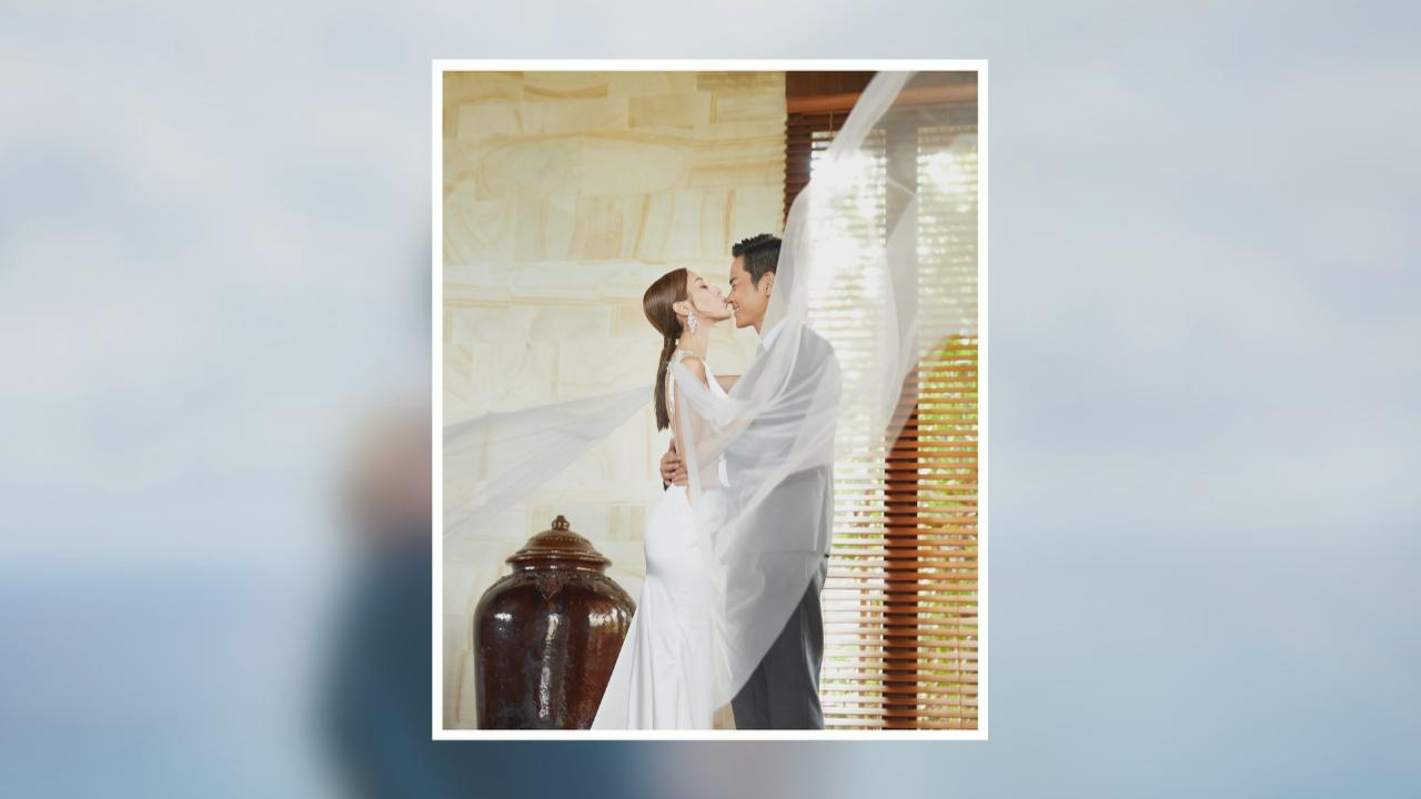 Grace嘉穎公開Pre-Wedding照