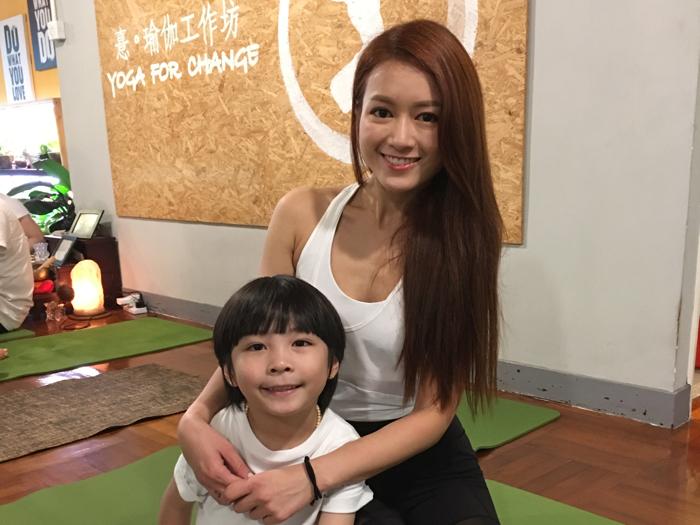 夏日大想 - 親子瑜珈Workshop
