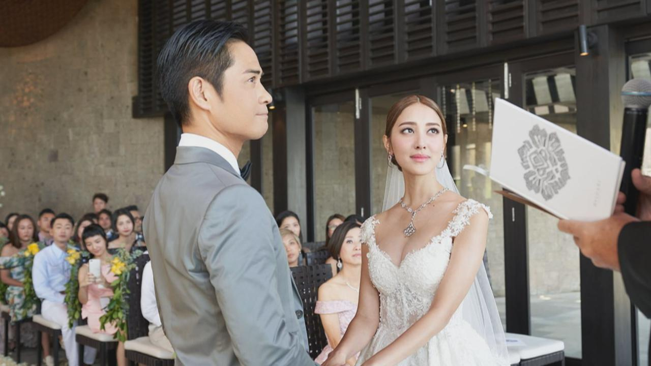 鄭嘉穎陳凱琳分享新婚喜悅