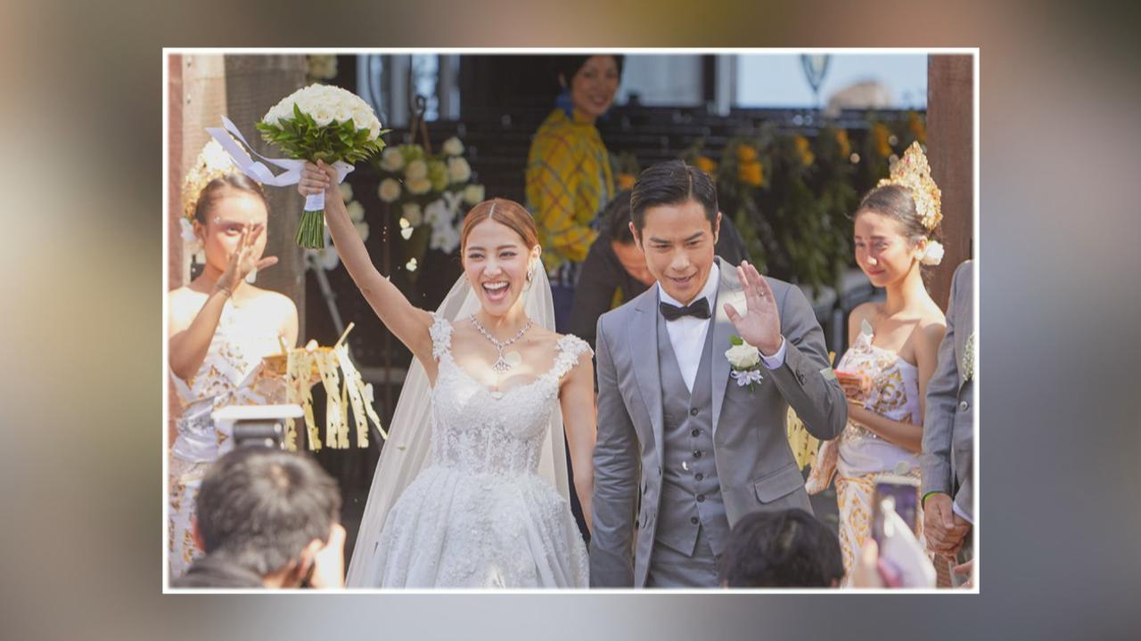 陳凱琳鄭嘉穎8.12峇里結婚 一對新人分享新婚心情
