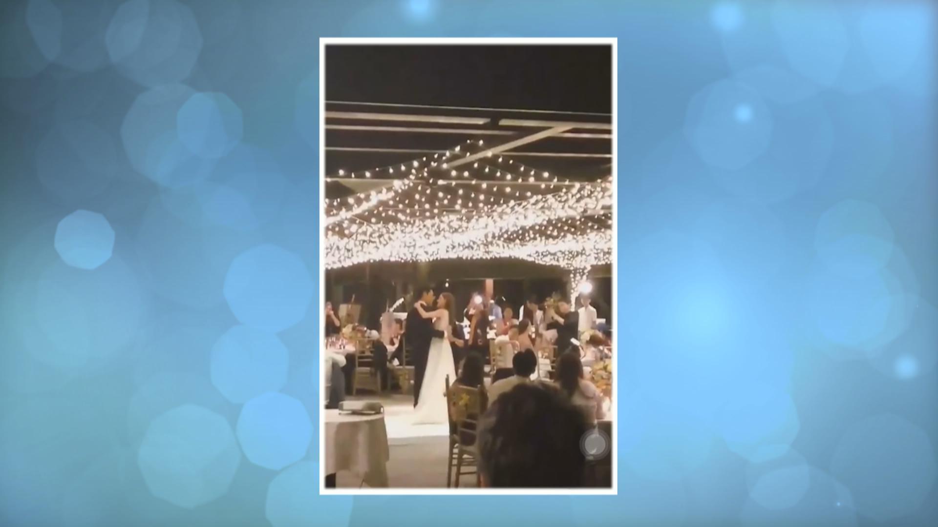 陳凱琳鄭嘉穎812峇里婚禮 二人翩翩起舞片段網上曝光