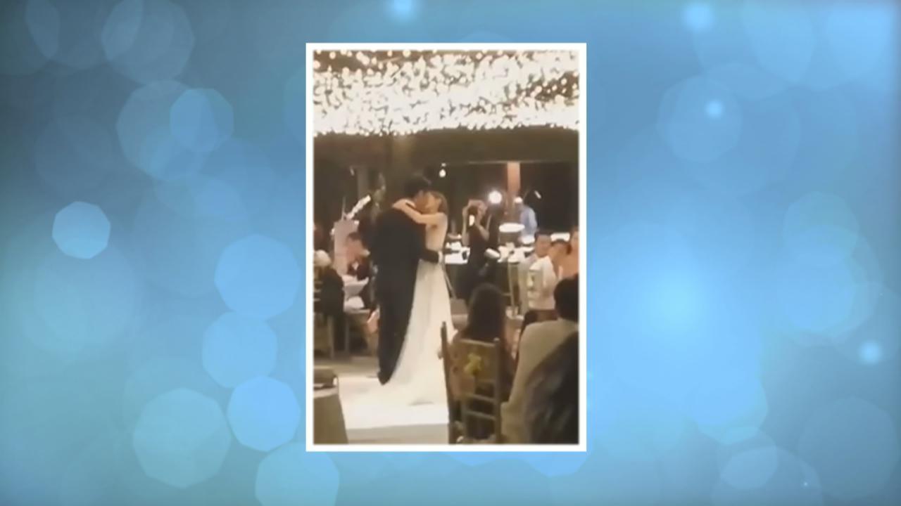 陳凱琳 鄭嘉穎8.12峇里婚禮 二人翩翩起舞片段網上曝光