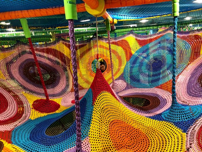 全新大埔美國冒險樂園7000呎彈跳迷宮