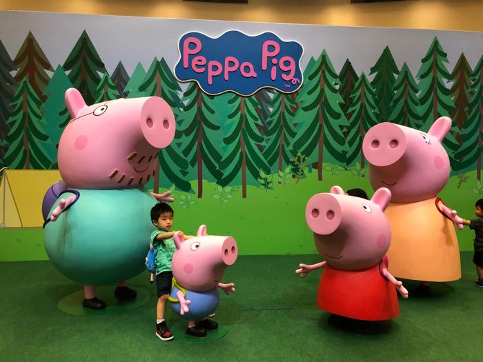 PeppaPig動感假期室內互動遊樂場