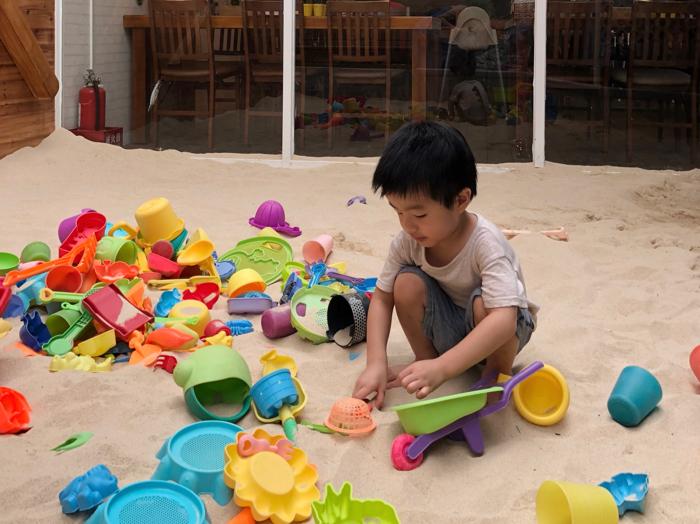 台灣親子遊庭院式親子餐廳 /大樹先生的家 潮州店