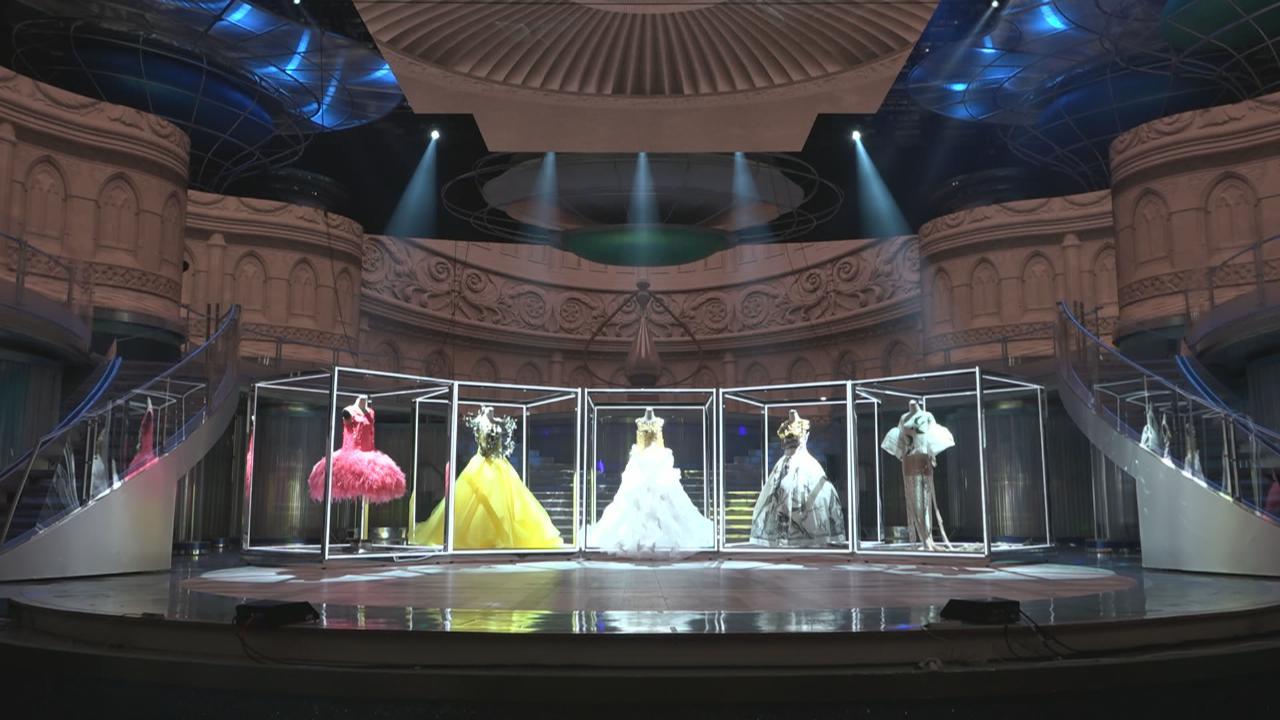 (國語)港姐決賽晚裝率先曝光 五強晚裝總值接近一百萬港幣