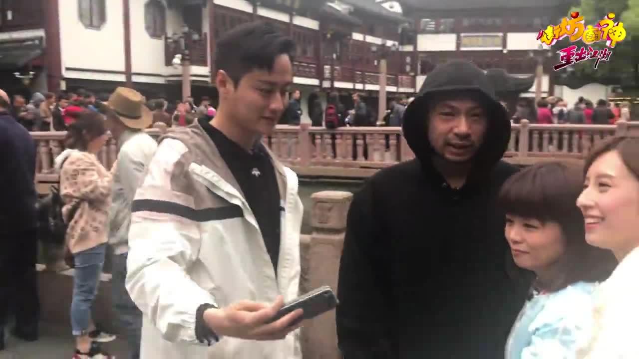 拍外景咁慘?上海豫園凍餐死!