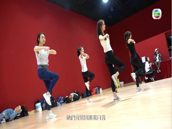 香港小姐備戰特輯@排舞練習