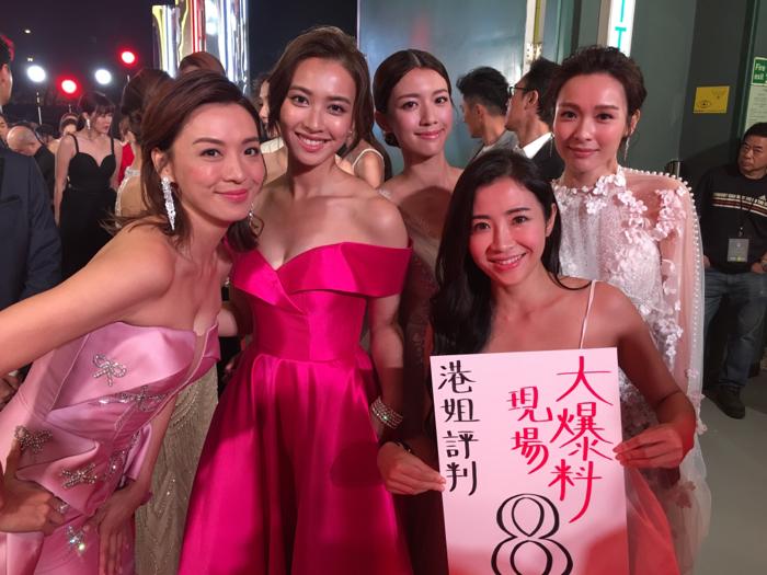 2018香港小姐現場直擊 評判大爆料