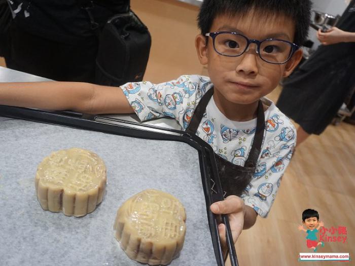 小小豬玩樂篇 - 製作傳統月餅@奇華工作坊