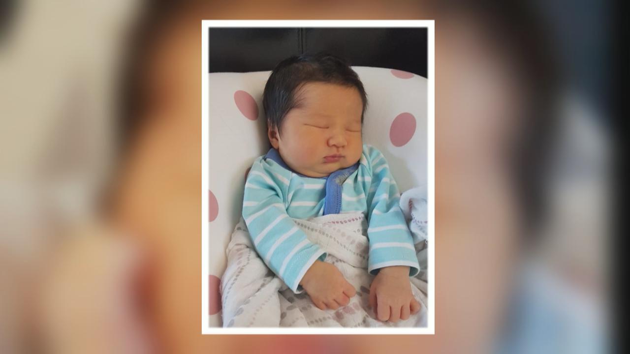 鍾嘉欣誕下重7磅14安士兒子 選擇於加拿大家中自然分娩