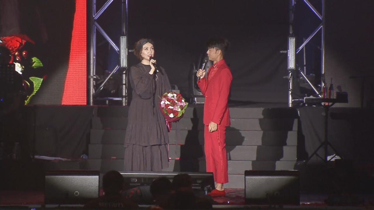 (國語)李克勤新加坡演唱會 陳潔儀獲邀擔任嘉賓
